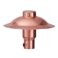 Replacement copper path light head for the bb-07 fixtures from Outdoor Lighting Perspectives of Cincinnati and Dayton, OH.