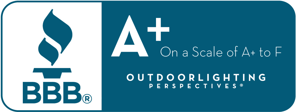 Dayton and Cincinnati's Outdoor Lighting Perspectives has an A+ rating with the BBB.