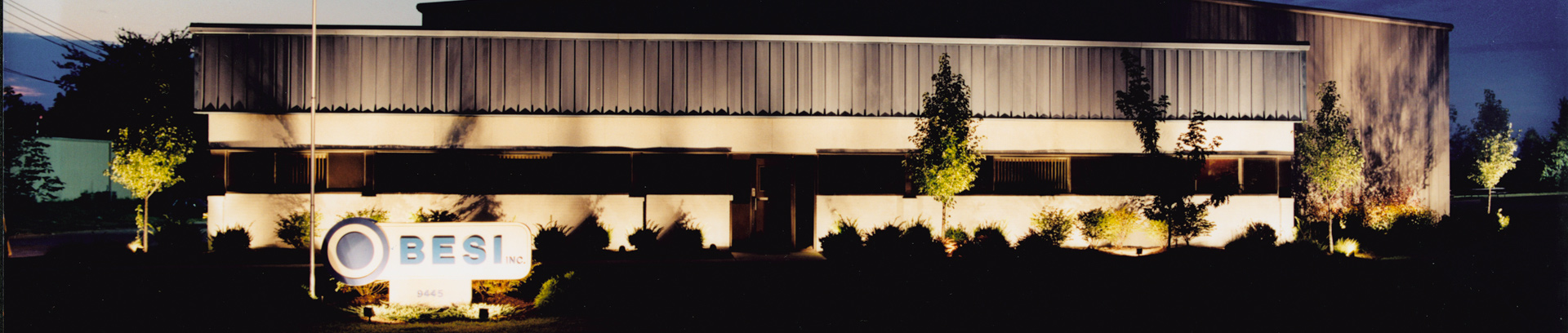 Commercial Landscape Lighting in Cincinnati, Ohio