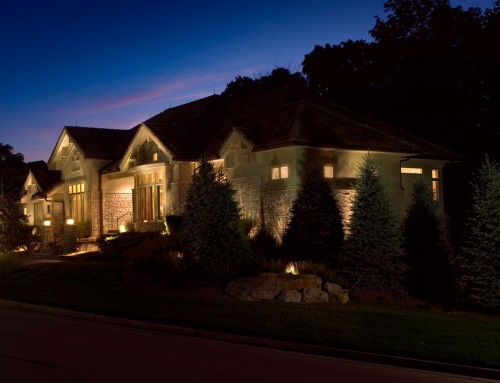 Residential Landscape Lighting 3 – Springboro, OH