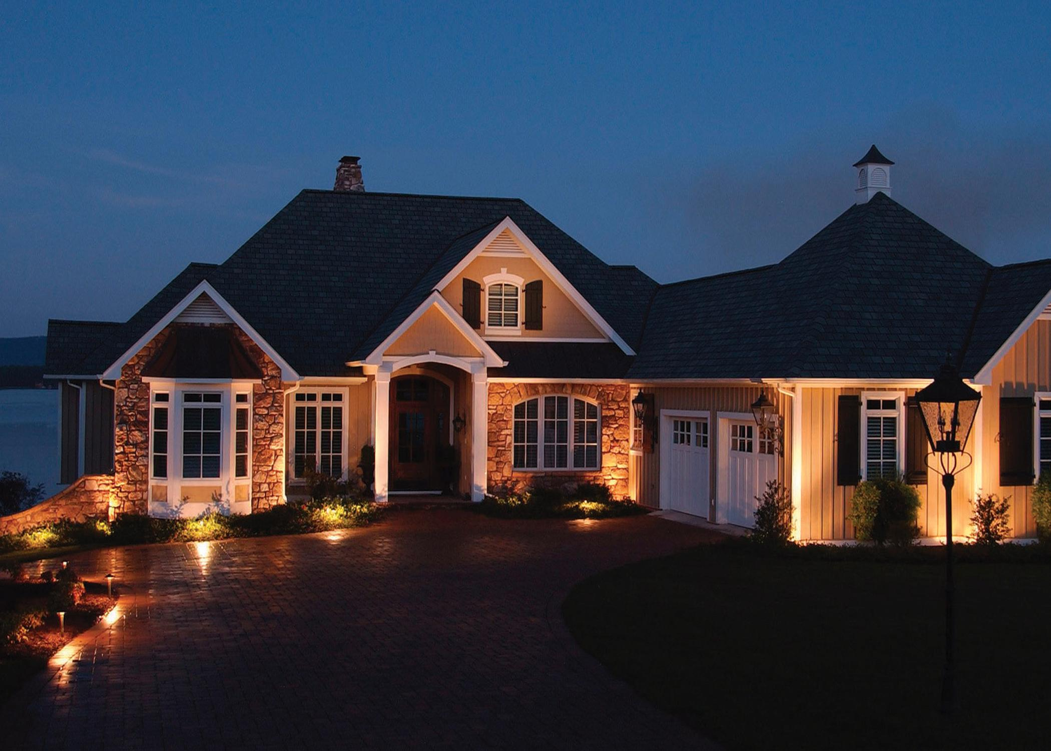 Outdoor Lighting Perspectives residential lighting in the Dayton, Ohio area